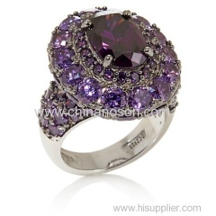 Fashion CZ jewelry ring