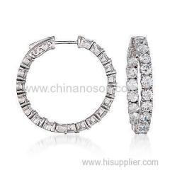 Sterling Silver 925 hoop earring