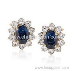 Stylish stud earrings for ladies