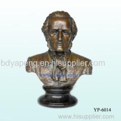 bronze bust statue/bronze sculpture/casting statue