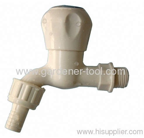 PVC Plastic Garden Tap For Garden Irrigation Or Washing