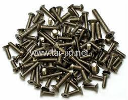 High Quality Gr2 titanium fastener bolt /rod
