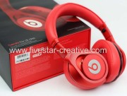 Beats by Dr Dre Executive Over-Ear Headphones(All Red)