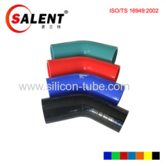 high performance Reducer elbow silicone hose 125mmL x I.D.57 to 51mm-I.D.2.25 to 2in