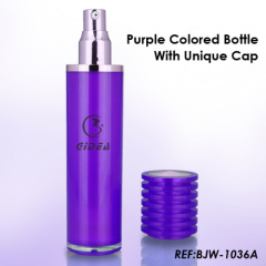 30ml 50ml Purple Airless Pump Bottle For Skin Care Packaging