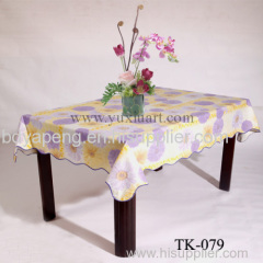 Peva Printed Table Cloth