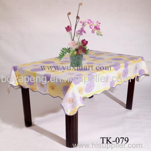 Peva Printed Table Cloth