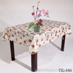 pvc Printed Polyester Table Cloth