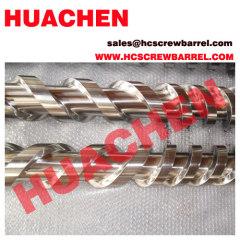 twin parallel bimetallic screw