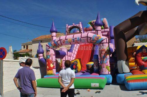 Fantastic Europe Standard Inflatable Jumping Castle
