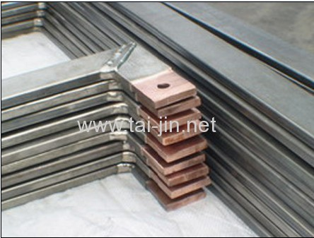 Round/Square Titanium Clad Copper for Industry Using