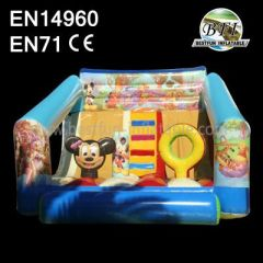 Small Mickey Inflatable Bounce Slide Combo