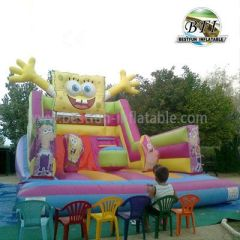 Inflatable Spongebob Playground Slide