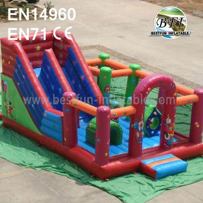 Inflatable Climb Castle With Slide