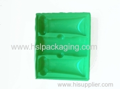 flocking insert tray for gifts packaging