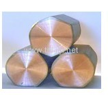 Gr2 ASTM Titanium Clad Copper flat With High Quality for industry electrolysis using