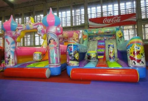 Hot Sale Inflatable princess Slide For Park