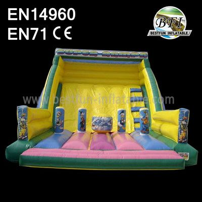 Inflatable Fun City Slide FOr Park