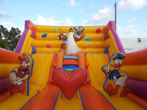 Inflatable Mickey Slide For Funny Party