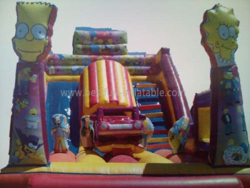 Cutomized Inflatable Amusement Slide Park