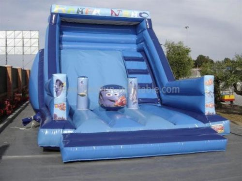 Exciting Cartoon Inflatables Slide With Different Theme