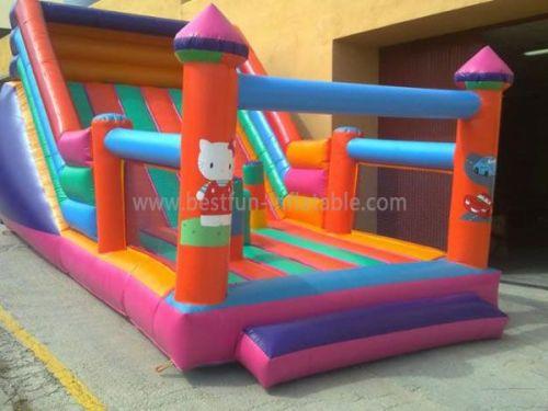 Hello Kitty Multi Inflatable Slide