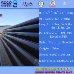 Seamless/welded Carbon Steel Line Pipes API 5L PSL1 GRADE X60