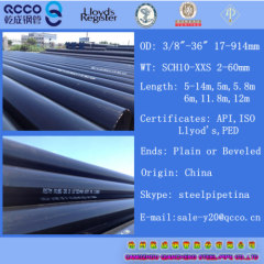 Seamless/welded Carbon Steel Line Pipes API 5L PSL1 GRADE X65