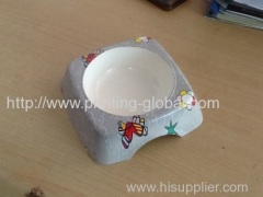 Heat transfer film for vacuum heat transfer printing cat bowl