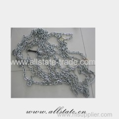 Forged steel link chain