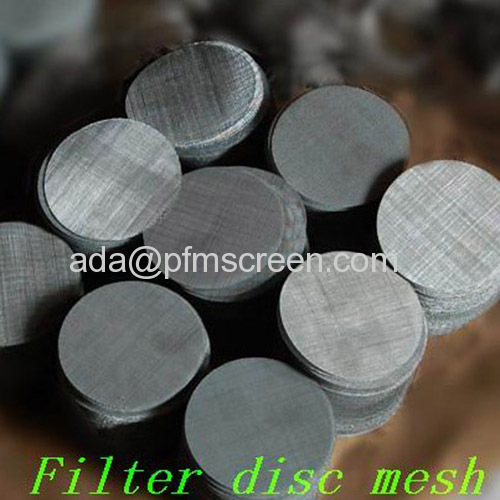 Sintered Stainless Steel Filter Dics