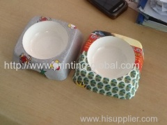 Hot stamping foil for vacuum hot stamping dog bowl