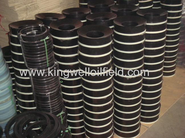 API Standard Piston Assembly for Mud Pump