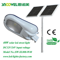solar led street light luminare