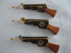 Animal Carved Wood Guns