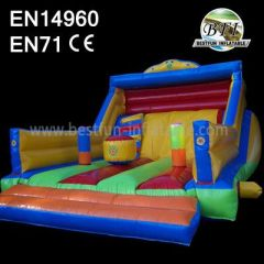Dry Inflatables Small Moonwalk Slide