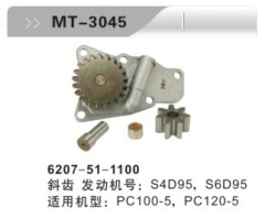S4D95 S6D95 OIL PUMP FOR EXCAVATOR