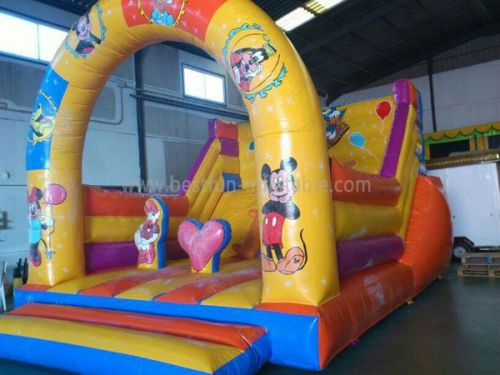 Inflatable Slide Mickey With Blower