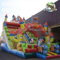 Inflatable Fantastic Mickey Mouse Slide