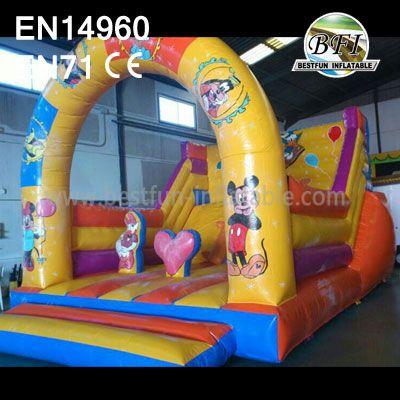 Indoor Mickey Inflatable Amusement Slide