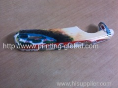 Heat transfer film for vacuum heat transfer printing handle