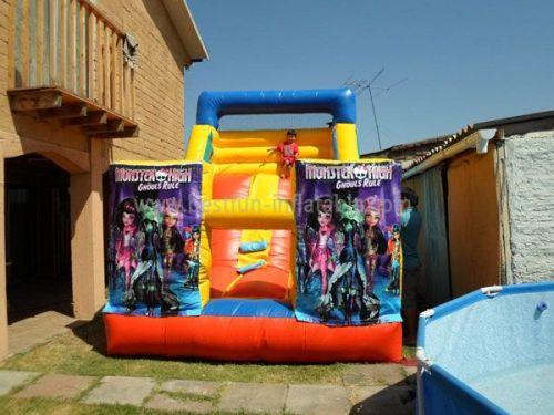 Customized Serve Superman Inflatable Slide 14960