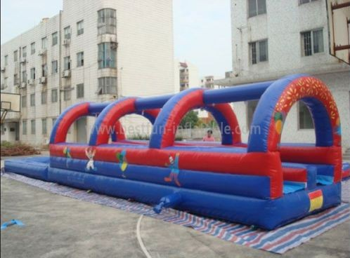 Inflatable Water Slip And Slide