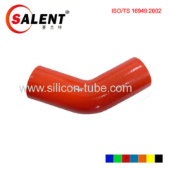 High temperature resistant 180degree/ 135 degree 90 degree / 45 deg black Reducer Elbow silicon hose 102mm lengths
