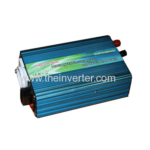 300W USB pure sine wave European power inverter