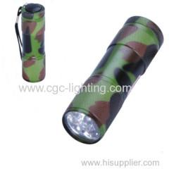 LED aluminum flash torch