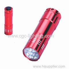 Dry battery LED flashlight