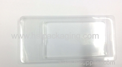 PVC/PP/PS/PET flocking tray for tea box