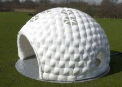White Commercial Pvc Inflatable Marquee Dome