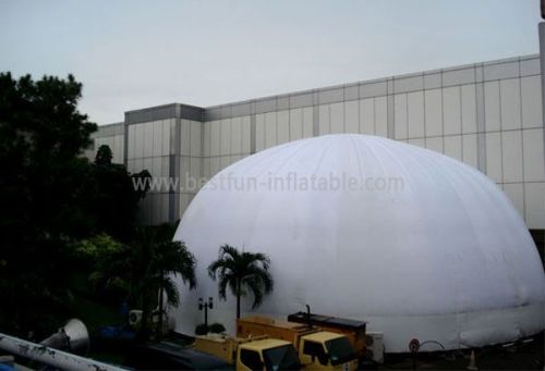 Inflatable Party Dome With Entrance Tunnel